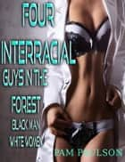 Four Interracial Guys in the Forest ebook by Pam Paulson