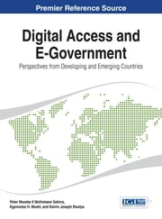 Digital Access and E-Government - Perspectives from Developing and Emerging Countries ebook by