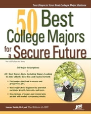 50 Best College Majors for a Secure Future ebook by Editors at JIST,Laurence Shatkin