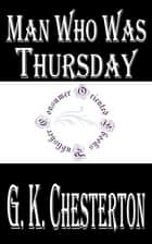 Man Who Was Thursday ebook by G. K. Chesterton