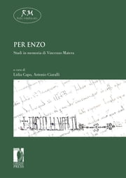 Per Enzo. Studi in memoria di Enzo Matera ebook by Kobo.Web.Store.Products.Fields.ContributorFieldViewModel