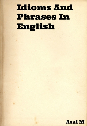 English Idioms And Phrases Ebook