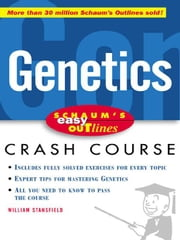 Schaum's Easy Outline of Genetics ebook by Stansfield, William