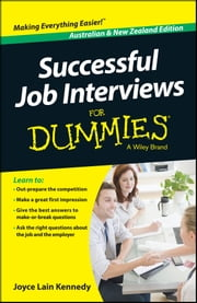 Successful Job Interviews For Dummies - Australia / NZ ebook by Kate Southam,Joyce Lain Kennedy