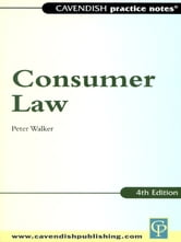 Practice Notes on Consumer Law ebook by