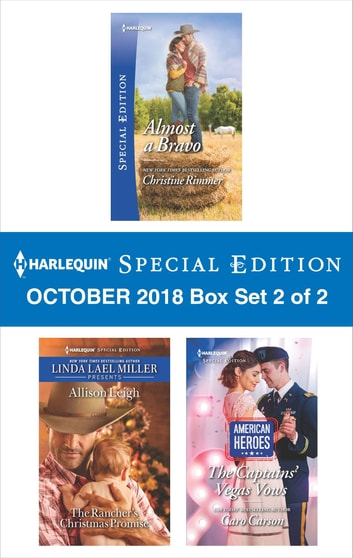 Harlequin Special Edition October 2018 - Box Set 2 of 2 ekitaplar by Christine Rimmer,Allison Leigh,Caro Carson