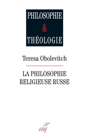 La philosophie religieuse russe ebook by Teresa Obolevitch