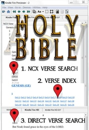Holy Bible (ASV Red Letter Edition): Fast Navigation, Search Every Verse with 1. NCX Verse Search, 2. Verse Index, & 3. Direct Verse Search ebook by American Standard Version Bible,Better Bible Bureau