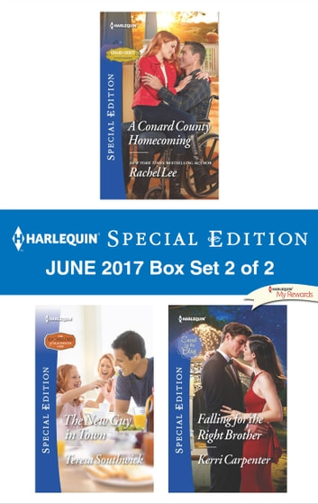 Harlequin Special Edition June 2017 Box Set 2 of 2 - An Anthology ebook by Rachel Lee,Kerri Carpenter,Teresa Southwick