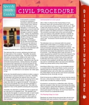 Civil Procedure (Speedy Study Guides) ebook by Speedy Publishing