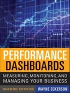 Performance Dashboards ebook by Wayne W. Eckerson