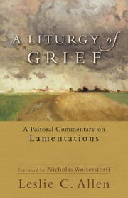 A Liturgy of Grief - A Pastoral Commentary on Lamentations ebook by Leslie C. Allen,Nicholas Wolterstorff