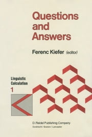 Questions and Answers ebook by F. Kiefer