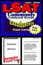 LSAT Test Prep Commonly Confused Words--Exambusters Flash Cards--Workbook 3 of 3 - LSAT Exam Study Guide ebook by LSAT Exambusters