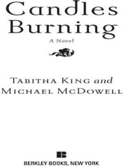 Candles Burning ebook by Tabitha King,Michael McDowell, Ph.D