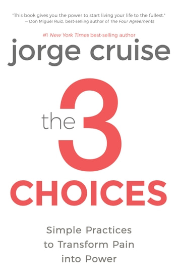 The 3 Choices - Simple Practices to Transform Pain into Power ebook by Jorge Cruise