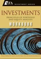 Investments Workbook ebook by Gerhard Van de Venter,Michael McMillan,Wendy L. Pirie,Jerald E. Pinto