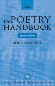 The Poetry Handbook ebook by John Lennard