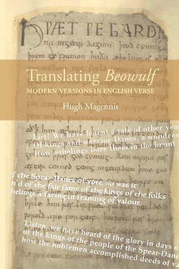 34153d14 Translating Beowulf: Modern Versions in English Verse ebook by Hugh Magennis