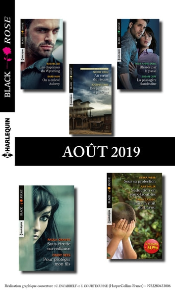 11 romans Black Rose (n°546 à 549 - Août 2019) eBook by Collectif