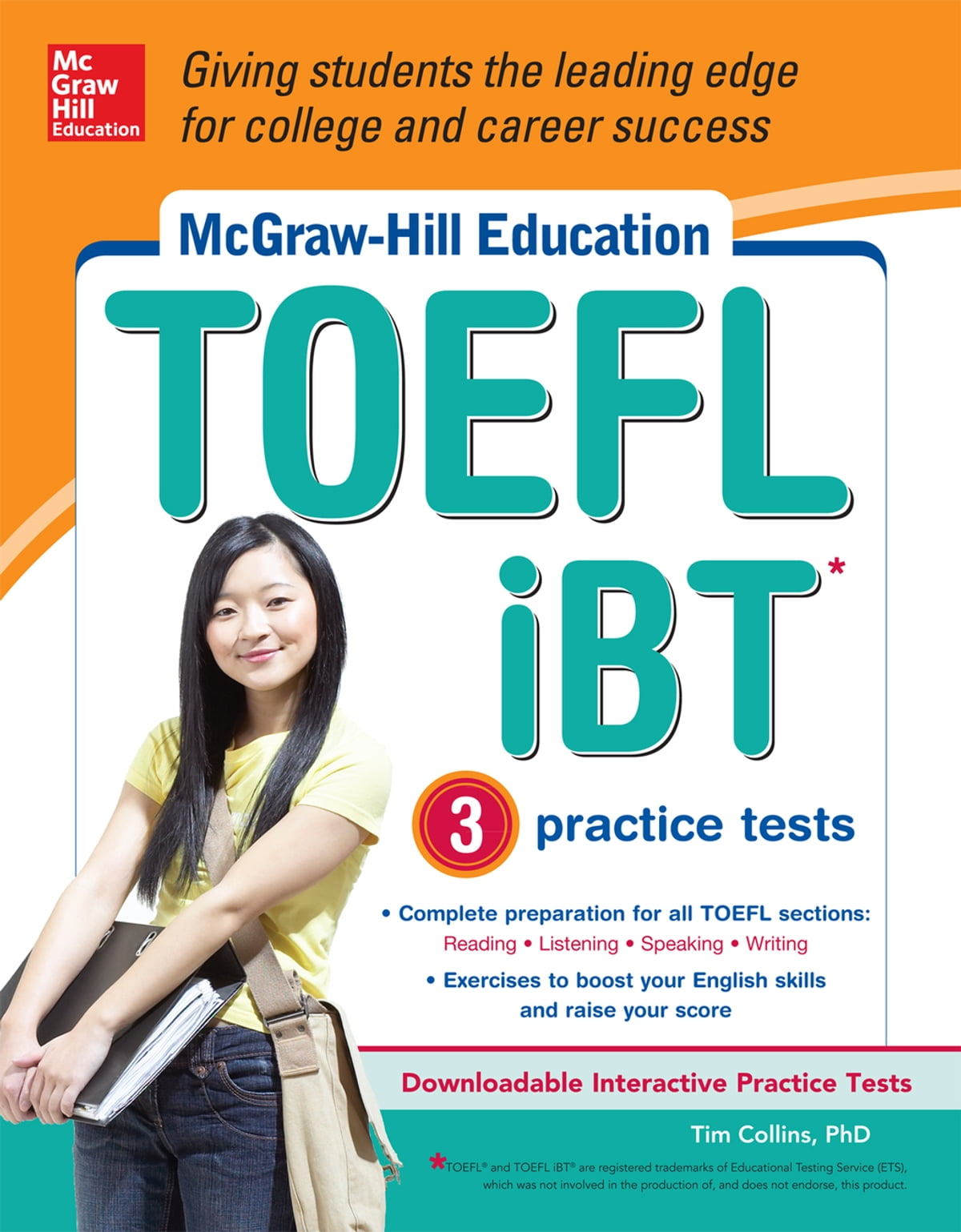 McGraw-Hill Education TOEFL iBT with 3 Practice Tests and DVD-ROM eBook by  Tim Collins - 9780071796200 | Rakuten Kobo