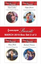 Harlequin Presents - March 2019 - Box Set 2 of 2 - An Anthology ebook by Dani Collins, Maya Blake, Pippa Roscoe,...