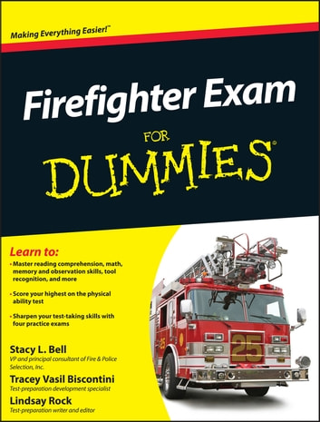 Firefighter Exam For Dummies Ebook By Stacy L Bell 9781118000533