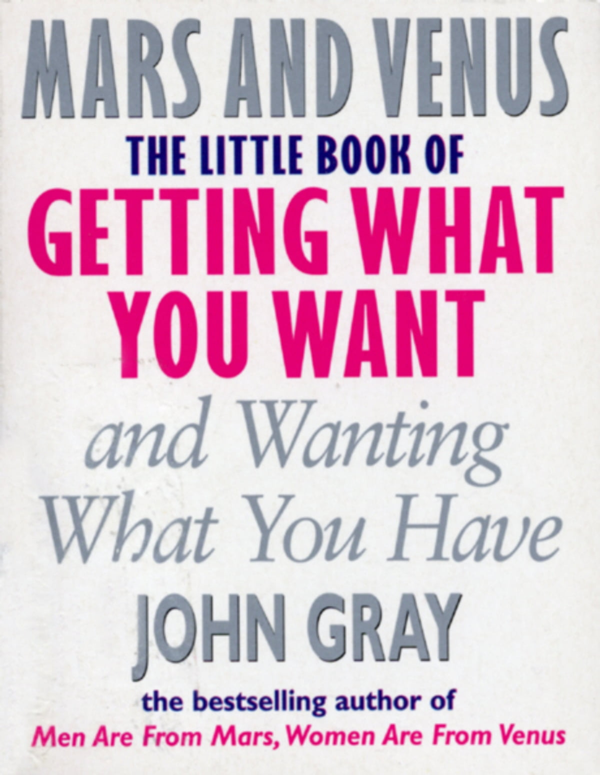 The Little Book Of Getting What You Want And Wanting What You Have eBook by  John Gray - 9781448116249 | Rakuten Kobo