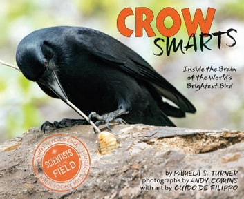 Crow Smarts - Inside the Brain of the World's Brightest Bird ebook by Pamela S. Turner,Andy Comins