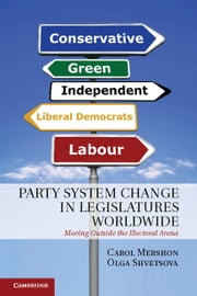 Party System Change in Legislatures Worldwide - Moving Outside the Electoral Arena ebook by Carol Mershon,Olga Shvetsova