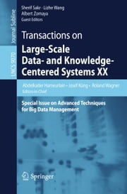 Transactions on Large-Scale Data- and Knowledge-Centered Systems XX - Special Issue on Advanced Techniques for Big Data Management ebook by Abdelkader Hameurlain,Josef Küng,Roland Wagner,Sherif Sakr,Lizhe Wang,Albert Y. Zomaya
