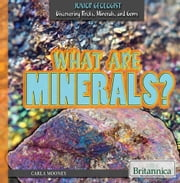 What Are Minerals? ebook by Carla Mooney,Meredith Day