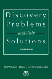 Discovery Problems and Their Solutions ebook by Paul W. Grimm,Charles S. Fax,Paul Mark Sandler