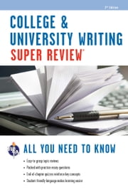 College & University Writing Super Review ebook by Della Ata Khoury