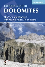 Trekking in the Dolomites ebook by Gillian Price
