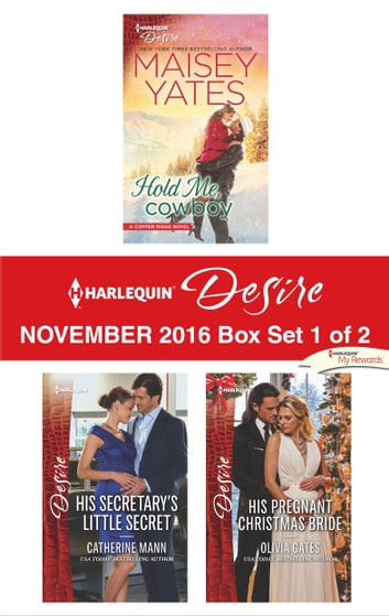 Harlequin Desire November 2016 - Box Set 1 of 2 - An Anthology ekitaplar by Maisey Yates,Catherine Mann,Olivia Gates