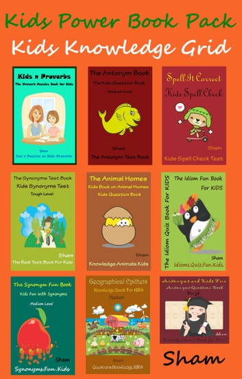 Kids Power Book Pack: Kids Knowledge Grid ebook by Sham