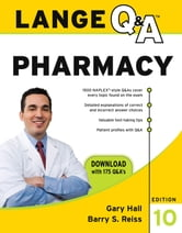 Lange Q&A Pharmacy, Tenth Edition ebook by Gary Hall,Barry Reiss
