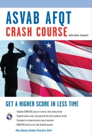 ASVAB AFQT Crash Course ebook by Wallie Walker-Hammond