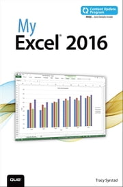 My Excel 2016 (includes Content Update Program) ebook by Tracy Syrstad