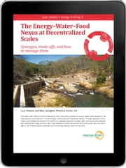 The Energy–Water–Food Nexus at Decentralized Scales eBook ebook by Lucy Stevens,Mary Gallagher