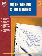 Note Taking & Outlining, Grades 3 - 5 ebook by Publications, Frank Schaffer