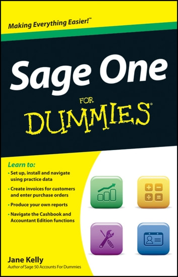 Sage One For Dummies ebook by Jane Kelly