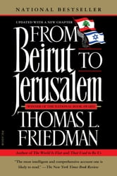 From Beirut to Jerusalem ebook by Thomas L. Friedman
