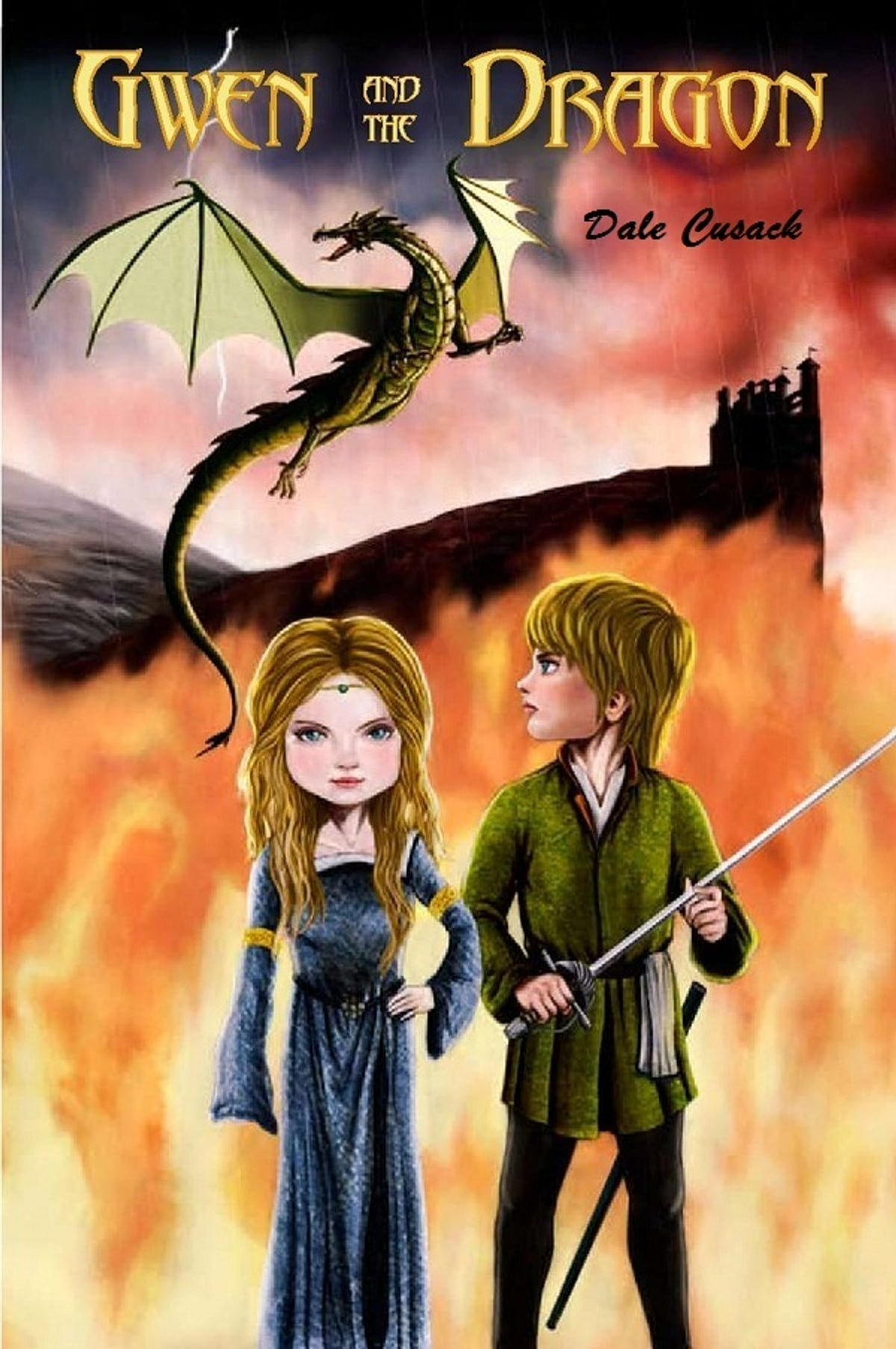 Ici sont (enfin) des Dragons Gwen-and-the-dragon