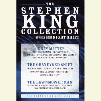 Stephen King Value Collection - Lawnmower Man, Gray Matter, and Graveyard Shift livre audio by Stephen King