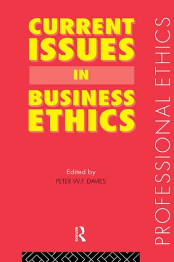 a look at the issues in business ethics Start studying business ethics learn vocabulary, terms, and more with flashcards, games, and other study tools.
