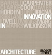 Innovation in Architecture - A Path to the Future ebook by Alan J. Brookes,Dominique Poole