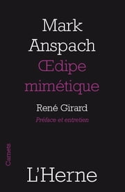 Œdipe mimétique ebook by Mark Anspach