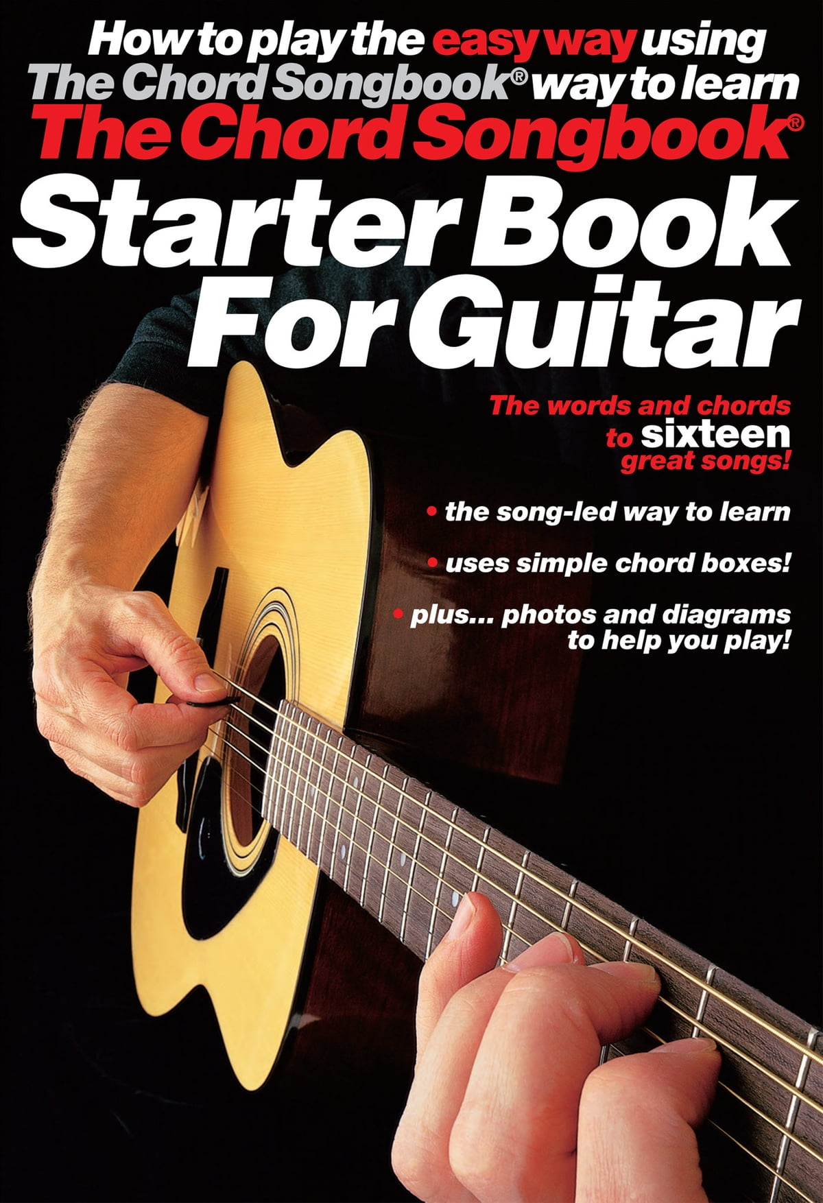 The Chord Songbook Starter Book For Guitar Ebook By Cliff Douse